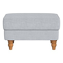Debenhams - Brushed cotton 'Eliza' footstool