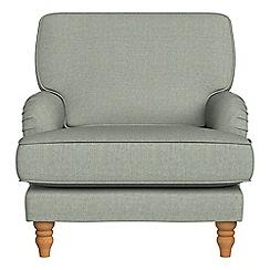 Debenhams - Textured weave 'Eliza' armchair