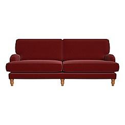 Debenhams - 4 seater velvet 'Eliza' sofa