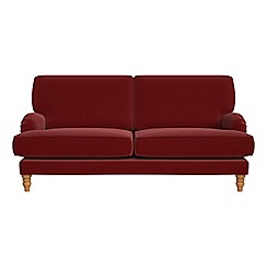 Debenhams - 3 seater velvet 'Eliza' sofa