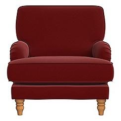 Debenhams - Velvet 'Eliza' armchair