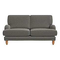 Debenhams - 2 seater natural grain leather 'Eliza' sofa