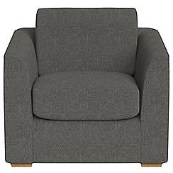 Debenhams - Tweedy fabric 'Jackson' armchair