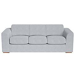 Debenhams - 4 seater brushed cotton 'Jackson' sofa