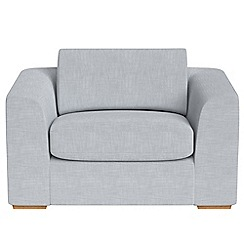 Debenhams - Brushed cotton 'Jackson' loveseat