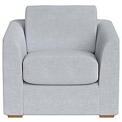 Debenhams - Brushed cotton 'Jackson' armchair