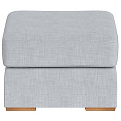 Debenhams - Brushed cotton 'Jackson' footstool