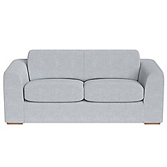 Debenhams - 3 seater brushed cotton 'Jackson' sofa bed