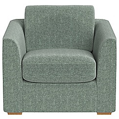 Debenhams - Chenille 'Jackson' armchair