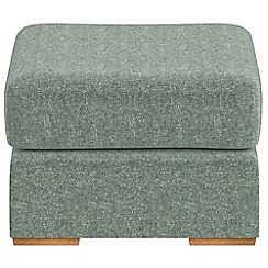 Debenhams - Chenille 'Jackson' footstool