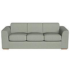 Debenhams - 4 seater textured fabric 'Jackson' sofa