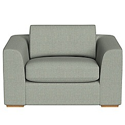 Debenhams - Textured fabric 'Jackson' loveseat