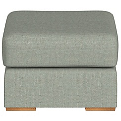 Debenhams - Textured fabric 'Jackson' footstool