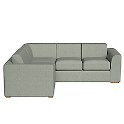 Debenhams - Medium textured fabric 'Jackson' left-hand facing corner sofa end