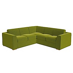 Debenhams - Medium velvet 'Jackson' corner sofa