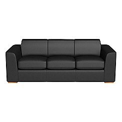 Debenhams - 4 seater luxury leather 'Jackson' sofa