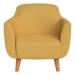 Ben de Lisi Home - Tweedy weave 'Marco' armchair