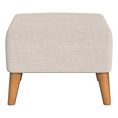 Ben de Lisi Home - Brushed cotton 'Marco' footstool
