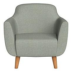 Ben de Lisi Home - Textured weave 'Marco' armchair