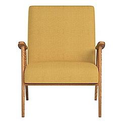 Debenhams - Tweedy weave 'Kempton' armchair