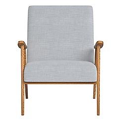 Debenhams - Brushed cotton 'Kempton' armchair