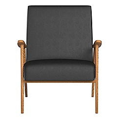Debenhams - Luxury leather 'Kempton' armchair