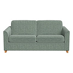 Debenhams - 2 seater chenille 'Carnaby' sofa bed