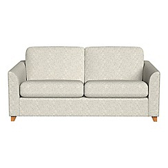 Debenhams - 2 seater textured weave 'Carnaby' sofa bed
