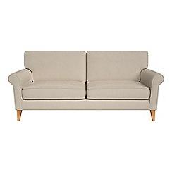 Debenhams - 3 seater tweedy weave 'Arlo' sofa