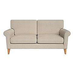 Debenhams - 2 seater tweedy weave 'Arlo' sofa
