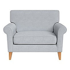 Debenhams - Brushed cotton 'Arlo' loveseat