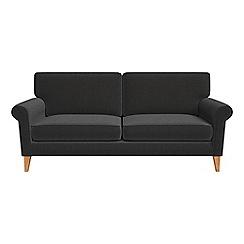 Debenhams - 3 seater chenille 'Arlo' sofa