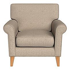 Debenhams - Textured weave 'Arlo' armchair