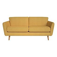 Debenhams - 3 seater tweedy weave 'Isabella' sofa