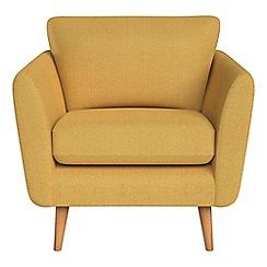 Debenhams - Tweedy weave 'Isabella' armchair