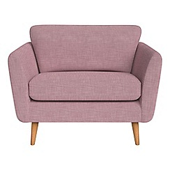 Debenhams - Brushed cotton 'Isabella' loveseat