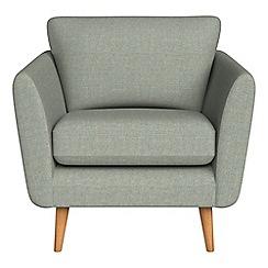 Debenhams - Textured weave 'Isabella' armchair