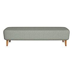 Debenhams - Textured weave 'Isabella' footstool