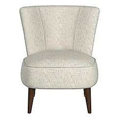 Debenhams - Textured weave 'Boutique' accent chair