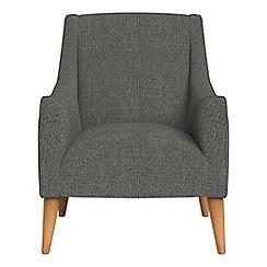 Debenhams - Tweedy weave 'Darcey' armchair