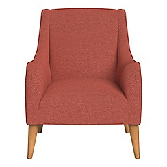 Debenhams - Flat weave fabric 'Darcey' armchair