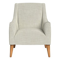 Debenhams - Brushed cotton 'Darcey' armchair