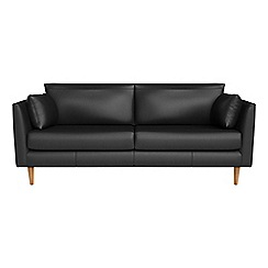 RJR.John Rocha - 3 seater luxury leather 'Ravello' sofa
