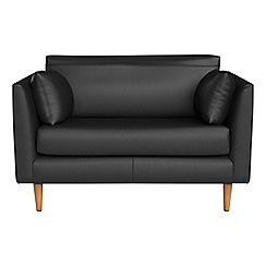 RJR.John Rocha - Luxury leather 'Ravello' loveseat