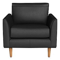 RJR.John Rocha - Luxury leather 'Ravello' armchair