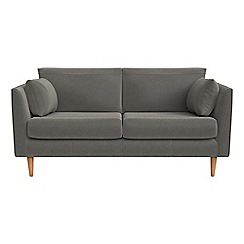 RJR.John Rocha - Small 2 seater natural grain leather 'Ravello' sofa