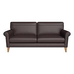 Debenhams - 3 seater luxury leather 'Arlo' sofa
