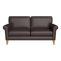 Debenhams - 2 seater luxury leather 'Arlo' sofa