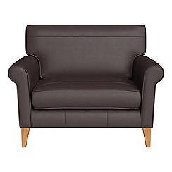 Debenhams - Luxury leather 'Arlo' loveseat