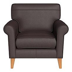 Debenhams - Luxury leather 'Arlo' armchair